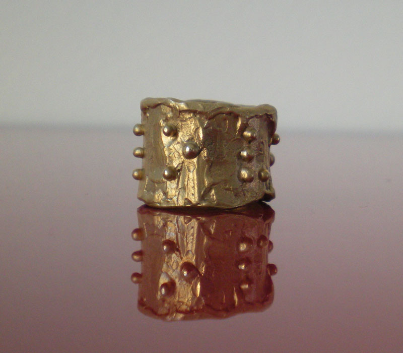 "Anello in bronzo ""love"""